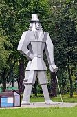Gulliver Sculpture In The Park In Gomel