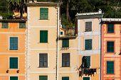Facades On The Promenade Of Portofino