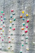 Artificial Climbing Wall.