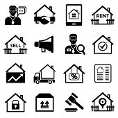 real estate agent icons