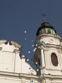 Sanctuary, The Basilica Of The Blessed Virgin Mary In Chelm In Eastern Poland