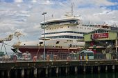 Melbourne, Australia - January 13, 2015: Spirit Of Tasmania Ferr
