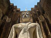 The Buddha Status Of Sukothai Historical Park