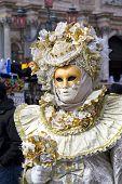 stock photo of venice carnival  - Carnival of Venice beautiful masks at St - JPG