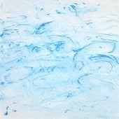 Watercolor Blue Background. Vector Illustration