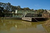 Paddlesteamer on the Murray River