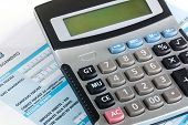 Model F24 For The Payment Of Taxes In Italy With Calculator