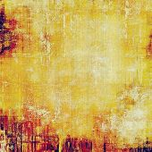 Rough grunge texture. With different color patterns: yellow (beige); red (orange); purple (violet)