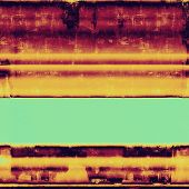 Old abstract grunge background, aged retro texture. With different color patterns: yellow (beige); cyan; purple (violet); pink; black