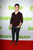 LOS ANGELES - FEB 12:  David Henrie at the