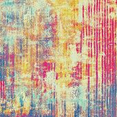 Beautiful vintage background. With different color patterns: yellow (beige); blue; cyan; purple (violet); pink