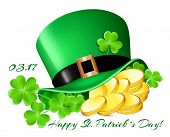 foto of leprechaun hat  - Happy Saint Patrick - JPG