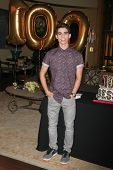 LOS ANGELES - FEB 12:  Cameron Boyce at the Disney Channel's