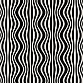 Abstract Seamless Striped Background.