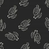 image of tortoise  - Tortoise Doodle - JPG