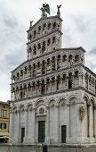 picture of michel  - San Michele in Foro is a Roman Catholic basilica church in LuccaItaly - JPG