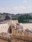 stock photo of aqsa  - Gray dome of the Al - JPG
