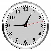stock photo of chronometer  - Clock face Setting Conception Reminder Science Number Chronometer Object Clock - JPG