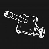 image of cannon-ball  - Cannon Doodle - JPG