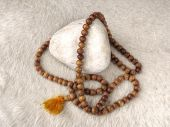 pic of prayer beads  - A buddhist tibetan mala with 108 prayer beads.