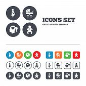 foto of buggy  - Maternity icons - JPG