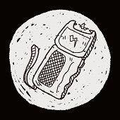 pic of taser  - Stun Gun Doodle - JPG