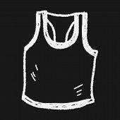pic of vest  - Sport Vest Doodle - JPG