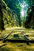 Railway at Hellfire Pass