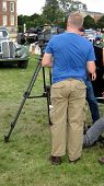 image of crew cut  - Film crew on site - JPG