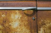 Rusted Car Door