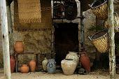Ancient Domestic Scene poster
