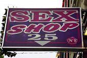 picture of porno  - porno shop sign - JPG