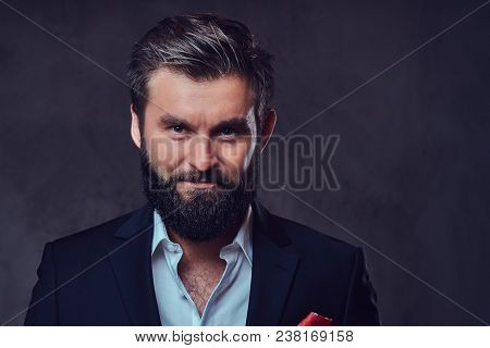 A Stylish Bearded Playboy Male