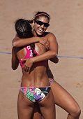 Mujeres de Canadá de voleibol de playa