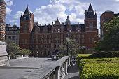 Old buildings near Royal  Albert Hall.