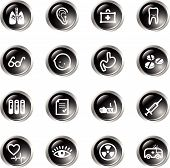 Black Drop Medicine Icons