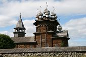 Old wooden church on Kizhi island