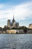 Notre-dame De Paris (french For our Lady Of Paris) Is A Medieval Catholic Cathedral On The Cite Is poster