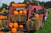 Pumpkin Fire truck