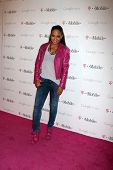 LOS ANGELES - NOV 16:  Christina Milian arrives at the Google Music Launch at Mr. Brainwash Studio o