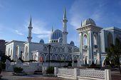 White Mosque Masjid Negeri poster