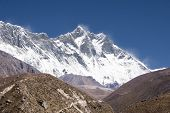 Nuptse, Lhotse, Everest - Nepal