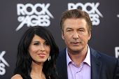 LOS ANGELES - JUN 8: Hilaria Thomas, Alec Baldwin at the 'Rock of Ages' Los Angeles premiere held at