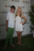 LOS ANGELES, CA - JUN 3: Peyton List, Spencer List at the  'A Time for Heroes' Celebrity Picnic Benefitting the Elizabeth Glaser Pediatric AIDS Foundation on June 3, 2012 in Los Angeles, California