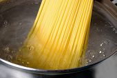Spaghetti hervido