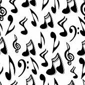 Musicnoteseamlesstile