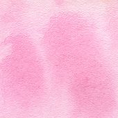 Delicate Pink Spots Similar To An Animal Print, Pink Leopard Spots. Watercolor Background With Paper poster