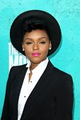 LOS ANGELES - JUN 3:  Janelle Monae arriving at the 2012 MTV Movie Awards at Gibson Ampitheater on J