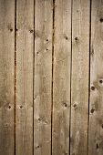 a wall of old wooden barn