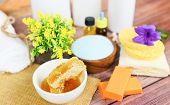 Natural Body Care Herbal Dermatology Cosmetic Hygienic Cream For Beauty Skincare Treatment Personal  poster